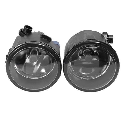 2X Driver Passenger Sides Fog Lights Housing Assembly For 2010-2013 Infiniti G37 Sedan Clear Lens New