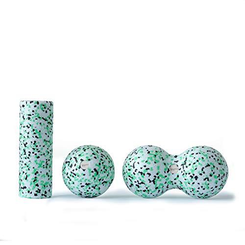 Balance Roll - Mini Set - (Kleine Rolle, Ball 8 cm & Duoball 8 cm) - Faszientraining Set