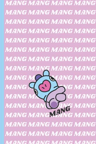 MANG: BT21 NOTEBOOK For School | 120 Pages 6'' x 9'' Lined Journal | Perfect for BTS...