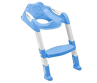 Zuvo Baby Toddler Potty Training Toilet Ladder Seat Steps