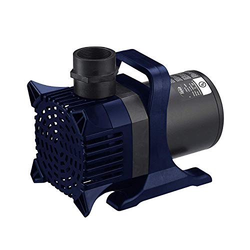 Alpine Corporation Alpine PAL3100 Cyclone Pond Pump-3100 Fountains, Waterfalls, and Water Circulation Pump, 3100 GPH, Black