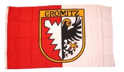 Fahne / Flagge Grömitz NEU 90 x 150 cm Flaggen
