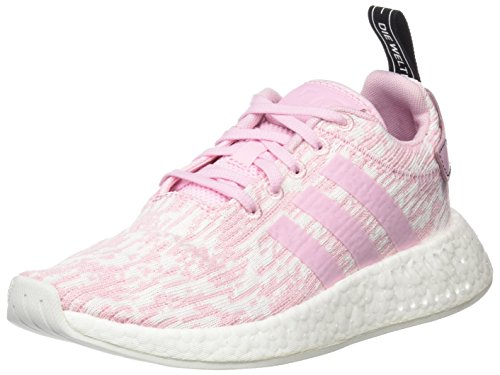 adidas Damen NMD_R2 Laufschuhe , rosa (Wonder Pink/wonder Pink/core Black), 36 2/3  EU