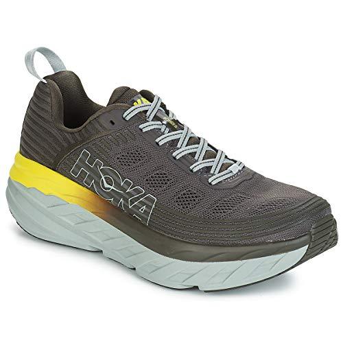 Hoka Bondi 6, Zapatillas de Running por Hombre, Gris (BlackOlive/Pavement), 47 1/3 EU
