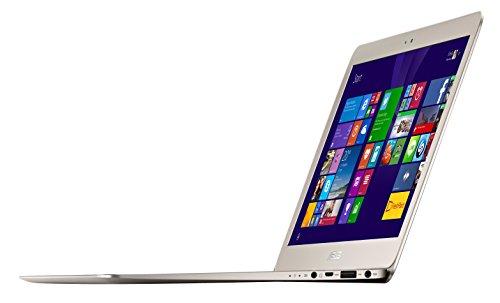 Asus ZenBook UX305FA 13-inch  HD Ultrabook UX305FA-RBM1-GD, Intel Core M-5Y10, 8GB RAM, 256GB SSD, Windows 8.1, (Titanium Gold)