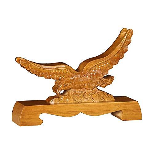 IQQI Espada con Forma de Águila Pantalla para Pedestal para Pantalla para Katana Japonesa Wakizashi Samurai Ninja Espada