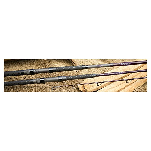 St Croix Mojo Surf 12ft HMF 2pc Spinning Rod (MSS120HMF2), Titanium