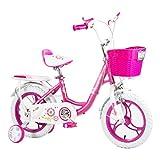 ZMDZA Bicicletas, Bicicleta Infantil Boy Amortiguador de Bicicletas 3-6 de aleación de magnesio de Bicicletas de montaña Chico de Ciudad Buggy, extraíble Incluye Ruedas de Entrenamiento