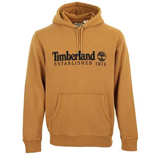 Timberland Wheat Boot OA Linear Hoodie Abbigliamento Uomo Felpa TB0A2CRMP471