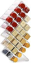 klares Acryl V-HANVER Fish Shape Lippenstift Organizer Tower Aufbewahrung f/ür 28 Lippenstifte Lipgloss Perfekt f/ür Schmink Aufbewahrung und Schminktisch Display