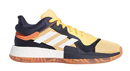 adidas Herren Marquee Low - Vegas Basketballschuhe Orange, 48