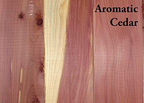 Box of 3/4' Thick Boards - All Eastern Red Cedar