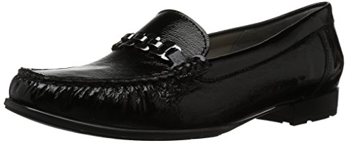 ARA Women's Nella Loafer, Black Vernice, 6 Medium UK (8.5 US)
