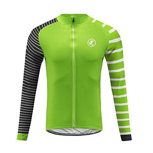 Uglyfrog Winter Fleece Warm Maglia Ciclismo Manica Lunga Termico Invernale MTB Traspirante Asciugatura Veloce da Uomo