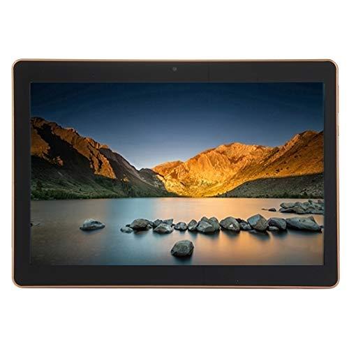 Beada Nueva Tableta de 10.1 Pulgadas Llamada TelefóNica 3G Android 6.0 Tabletas 2 + 16GB Cuatro Nucleos CáMara Dual para Market GPS WiFi, Enchufe de la UE Negro