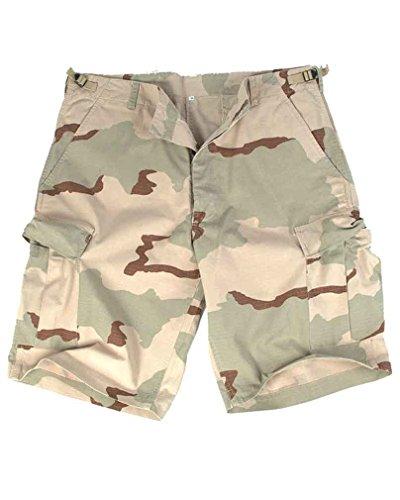 Mil-Tec US lavata Ripstop Bermuda pantaloncini 3-Desert Taglia XL