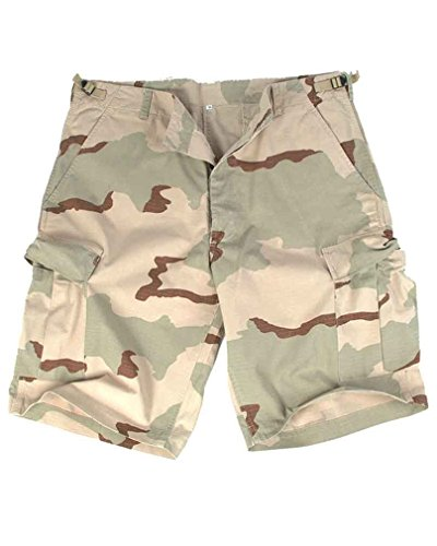 Desert Camo Fishing Shorts