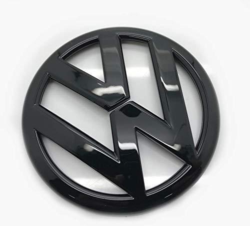 Schwarz glänzend 110mm Vorderes Grill Bonnet Abzeichen Emblem Für Scirocco 2015-2018