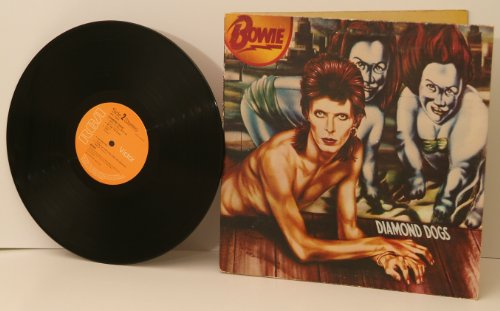 DAVID BOWIE, Diamond dogs. Top copy. First UK pressing. 1974. Handwritten matrix A1 B1.Record label: RCA Victor