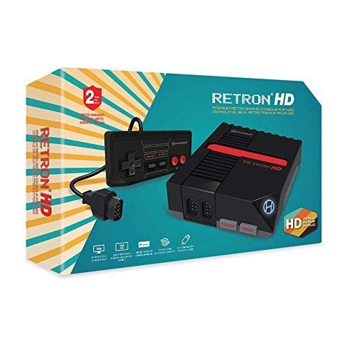 Hyperkin RetroN 1 HD Gaming Console – Black