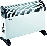 Convector eléctrico turbo 2000W con termostato regulable