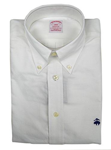 Brooks Brothers Men's Madison Fit Supima Cotton The Original Polo Shirt White Medium