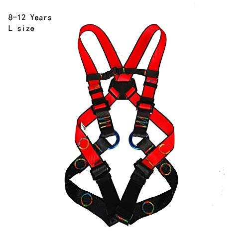 Generic Kids Gravity Yoga Dance Bungee Workout Training Gym Heavy Rope Fitness Equipment Resistance Band Color 8-12 Years(L)