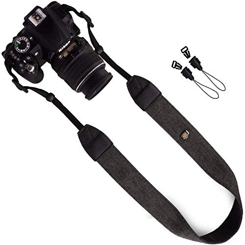 Correa de muñeca umhängeband cámara profesional pulsera correa de transporte marrón