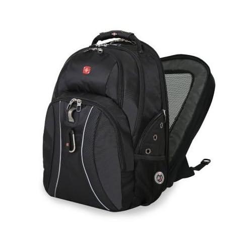 e6542c8be92 Amazon.com: SwissGear ScanSmart Laptop Backpack - Black: Computers &  Accessories