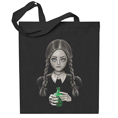 Death Bores Me Wednesday Addams Family Totebag