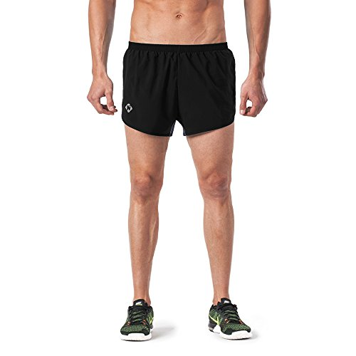 Naviskin Men's Lightweight Quick Dry Running Shorts Training Pace Shorts