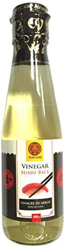 Tiger Khan Vinagre de Arroz - 200 ml - [Pack de 6]