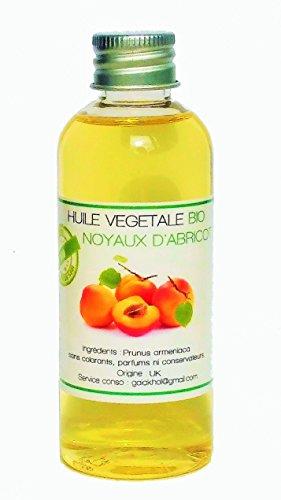 HUILE VEGETALE NOYAUX D'ABRICOT Certifié BIO - 100ML