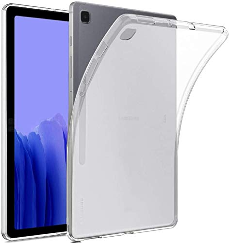 M.G.R.J® Soft TPU Transparent Back Case Cover for Samsung Galaxy Tab A7 SM-T500 / T505 / T507 (10.4 inch)