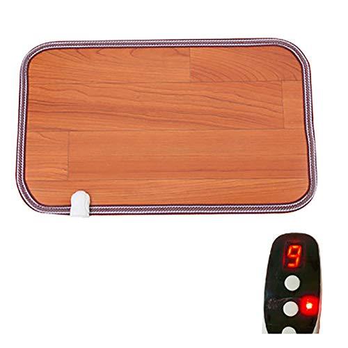 Heture Infrarotmatte Mit Thermostat Beheizbare Infrarot-Fußboden-Matte, 30 X 50 cm, Bis 60 °C, 50 Watt Schnelle Erhitzung Energiesparende wasserdichte rutschfeste,A