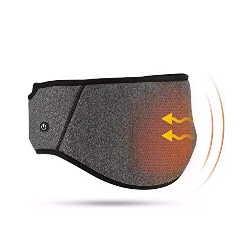 Preisvergleich Produktbild CCFCF Wärmegürtel Rücken Elektrisch,  USB Heizgürtel Elektrischer Rückenwärmer Heizkissen,  Mit Extra Gürtel Und 3 Ebene Temperatur Für Warmer Bauch,  Taillenschmerzen Und Schmerzlinderung