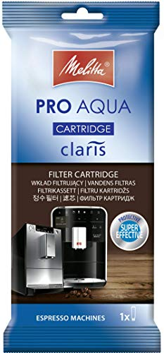 Melitta 192830 wkład filtrujący do ekspresów do kawy | Pro Aqua | zapobieganie osadzaniu się kamienia | łatwe zastosowanie | 1 wkład