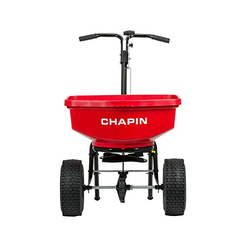 Find Bargain Chapin International 8301C Chapin Contractor Spreader, 80 Lb. Capacity, 1, Red