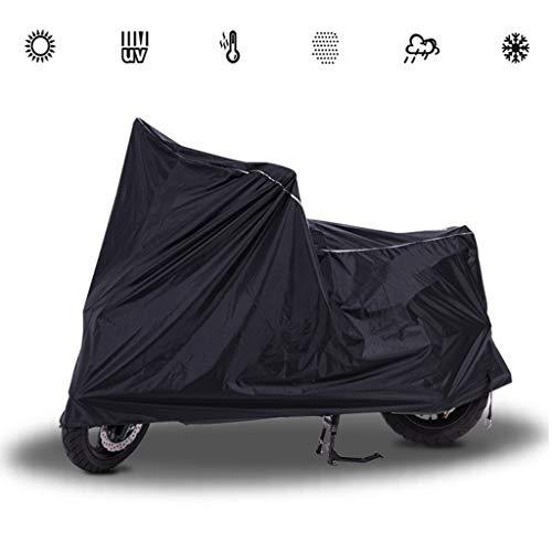 HWHCZ Motorradabdeckungen Kompatibel mit dem Motorrad Abdeckung Rokon, Wind- Regenschutz Motorrad Abdeckung wasserdicht Sonnenschutz, Universal-Motorrad Abdeckung (Size : XL(295 * 118 * 132CM))