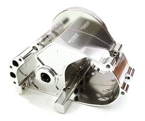 Integy RC Model Hop-ups C26833SILVER Billet Machined Gear Box Housing for HPI 1/10 Jumpshot MT, SC & ST