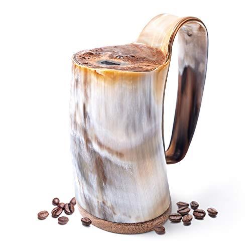 Jarra de cuerno de comerciante nórdico (mediana, taza de café)