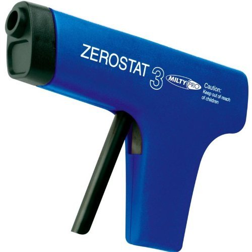 MILTY - ZEROSTAT ANTI-STATIC GUN (BLUE) Portable Consumer Electronic Gadget Shop