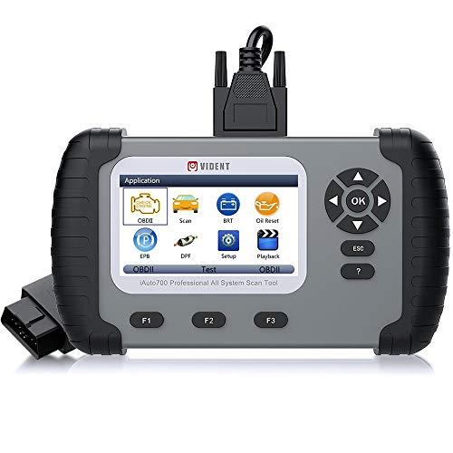 VIDENT iLINK400 Multi-System Scan Tool for Mercedes Benz/Smart/Sprinter Automotive Full System Code Reader OBDII ABS, SRS, Engine, Transmission etc with Service Light Reset Functions