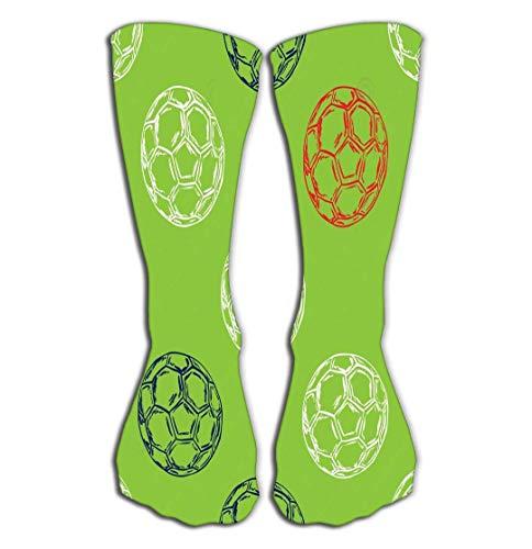 hgfyef High Socks Novelty Compression Long Socks for Women and Girls France Football Championship Concept Pattern Euro
