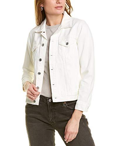 Lucky Brand Women's Tomboy Trucker Jacket, Clean White, S