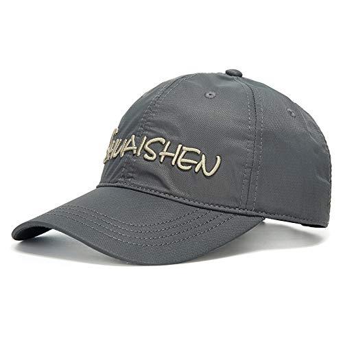 wtnhz Parasole ad Asciugatura Rapida Sportivo all'aperto Traspirante Cappello da Baseball Maschile Berretto da Baseball Moda Giovanile alla Moda
