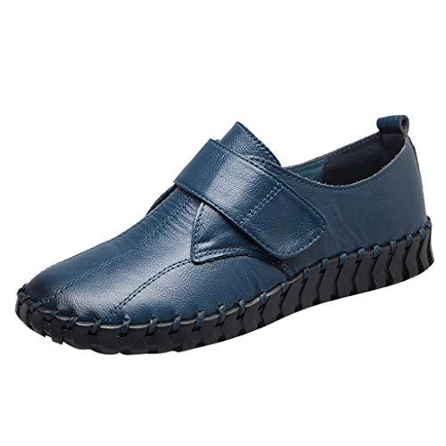 Yesmile Stiefel Damen Flachschuhe Einzel Schuhe Frauen Sandalen Casual Halbschuhe Comfort Sohle Freizeitschuh Ballerinas Bequeme Slip-Ons