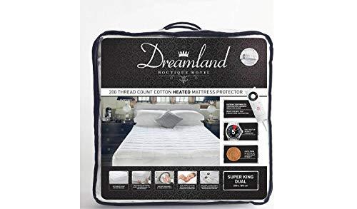 Dreamland Boutique - Protector de colchón con doble control