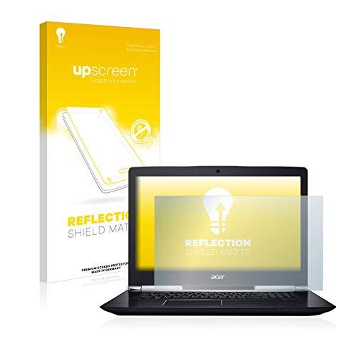 upscreen Entspiegelungs-Schutzfolie kompatibel mit Acer Aspire V 17 Nitro – Anti-Reflex Bildschirmschutz-Folie Matt
