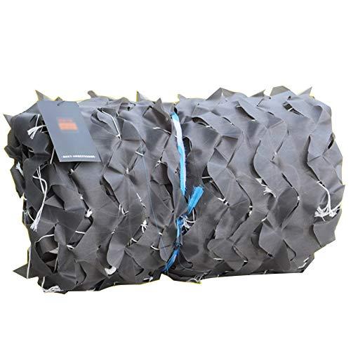 SSRS Pantalla de Tela de sombreado Neto por Encargo de cifrado de protección Solar Pergola Cubierta Exterior Camuflaje de Tela Oxford, 14 Tamaños portátil, Duradero (Color : Gray, Size : 9X5M)
